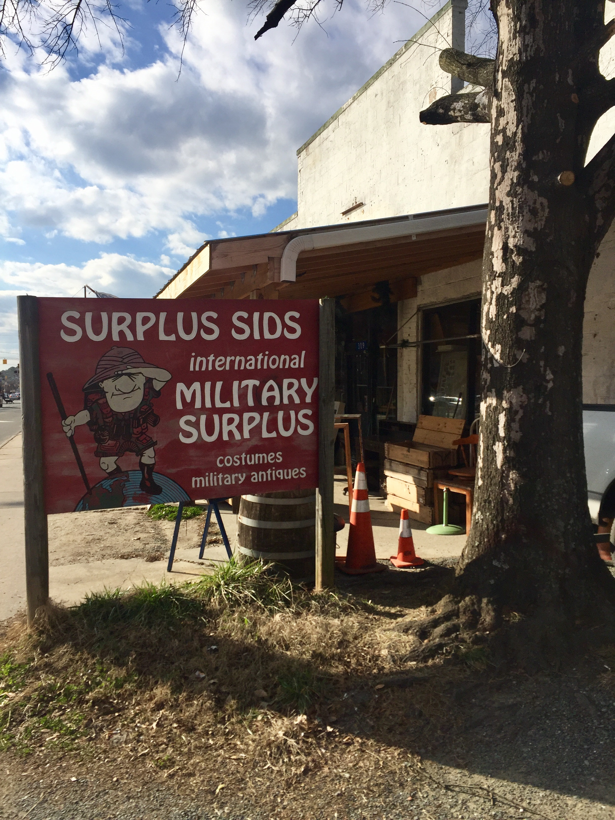 For Over 30 Years, Surplus Sids Has Been The Go To Store For Costumes,  Toys, Military Memorabilia And Odd Furniture In The Chapel Hill Carrboro  Area.