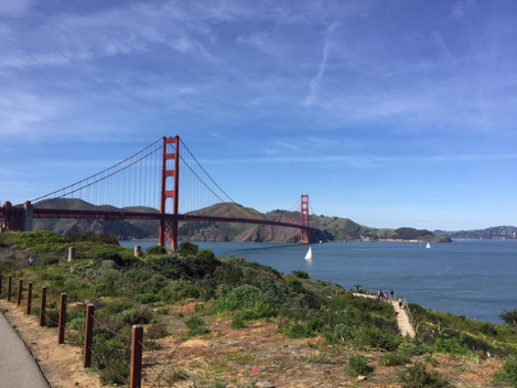 San Fransisco, one of the most famous cities in the world, has many prominent attractions as well as innumerable hidden gems. (photo by Sofie DeWulf)