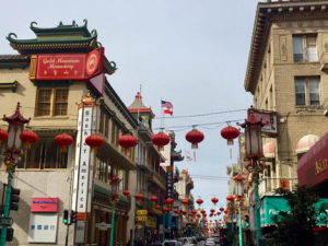 Chinatown in San Fransisco is the largest Chinese community outside of Asia. (photo by Sofie DeWulf)