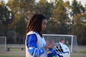 Jay Arrington's life has not been easy, but, through perseverance and support, he now plays college lacrosse.